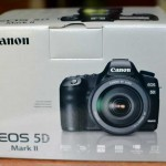 Canon 5D Mark II box