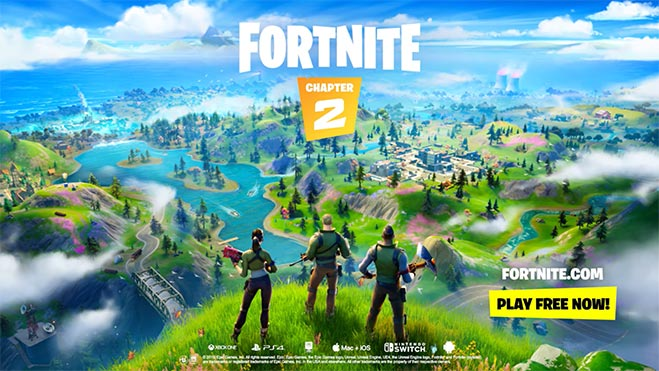 Epic Games finally reveals Fortnite Chapter 2